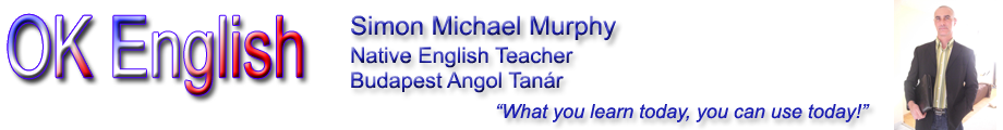 OK English – Budapest Angol Tanar – Native English Teacher